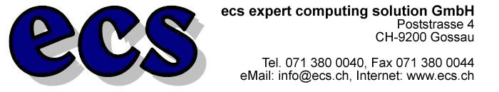 Logo ecs expert computing solution GmbH